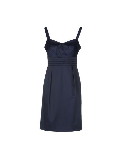 Diana Gallesi | Женское Синее Короткое Платье