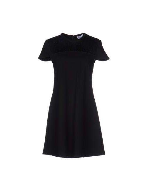 Red Valentino | Женское Черный Короткое Платье