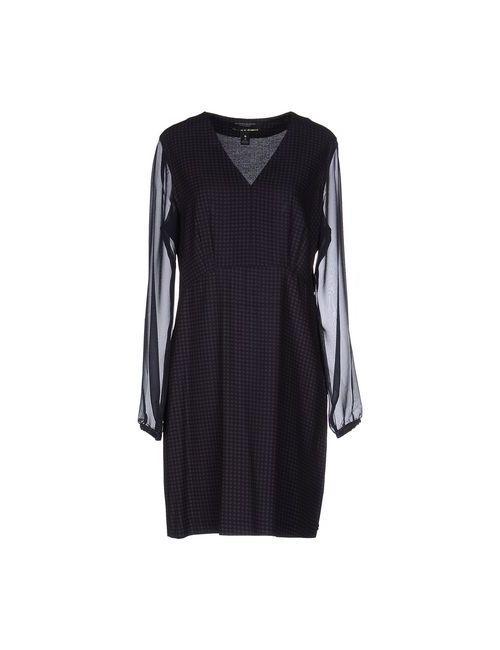 Maison Scotch | Женское Синее Короткое Платье