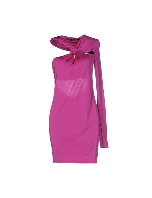 Patrizia Pepe Sera | Женское Фиолетовое Короткое Платье