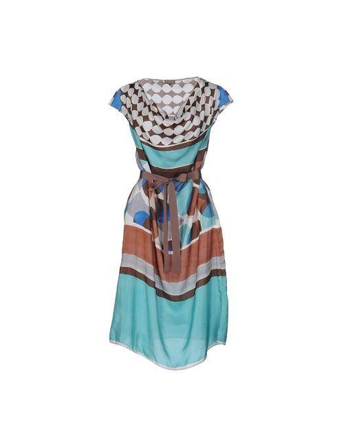 Maliparmi | Женское Коричневое Платье До Колена