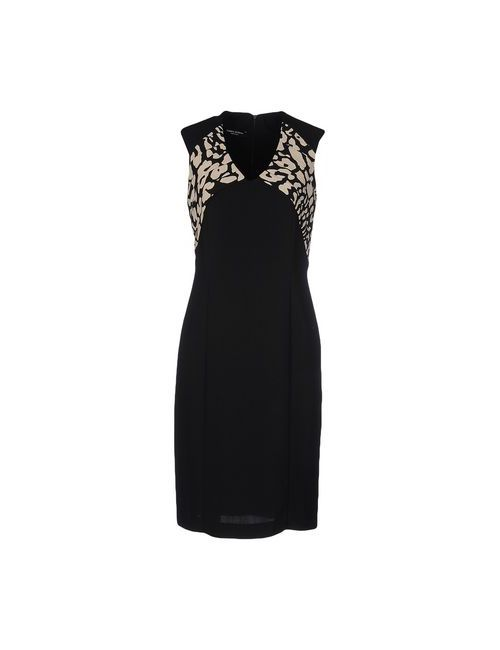 ALBERTA ANTICOLI | Женское Чёрное Короткое Платье