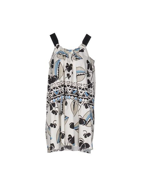 Suoli | Женское Белое Короткое Платье