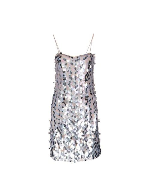 Armani Collezioni | Женское Телесное Короткое Платье