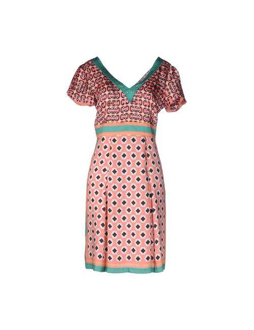 Seventy | Женское Розовое Короткое Платье
