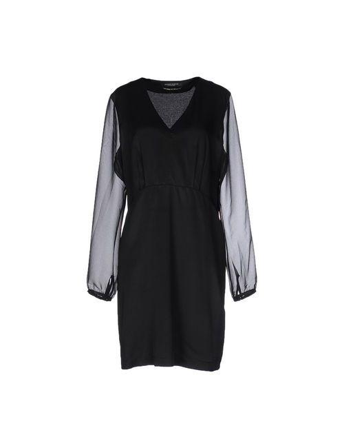 Maison Scotch   Женское Чёрное Короткое Платье
