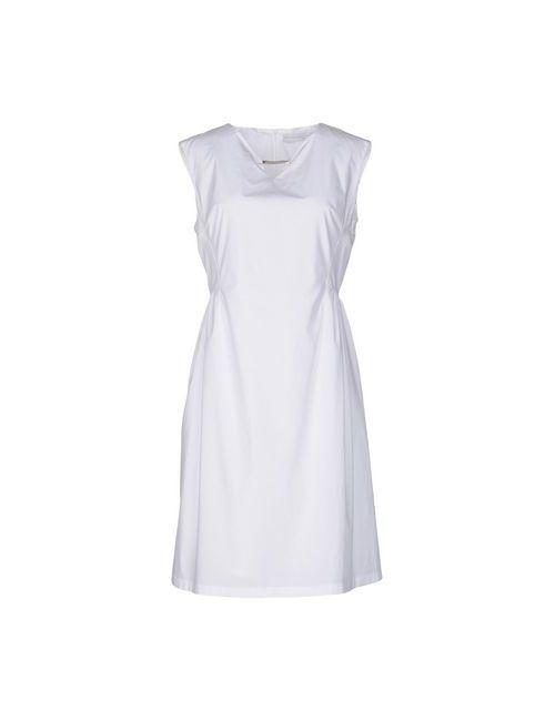 Fabiana Filippi | Женское Белое Платье До Колена