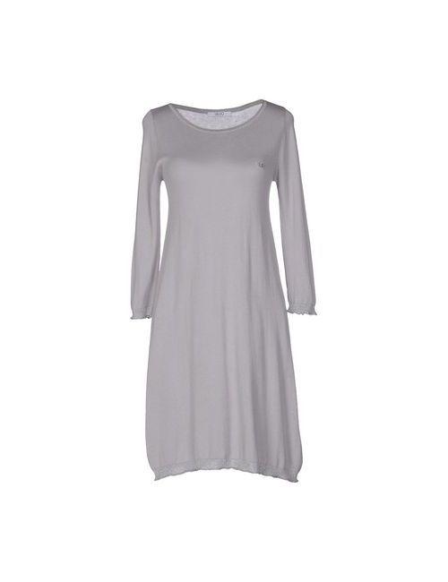 Liu •Jo Jeans   Женское Серое Короткое Платье