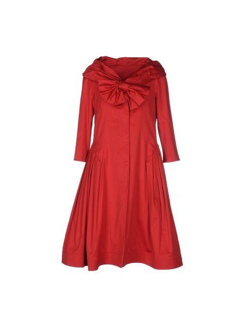 Moschino | Мужское Красное Легкое Пальто