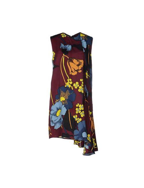 Marni | Женское Фиолетовое Короткое Платье