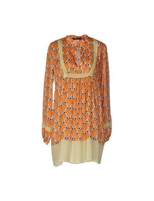Patrizia Pepe | Женское Оранжевое Короткое Платье