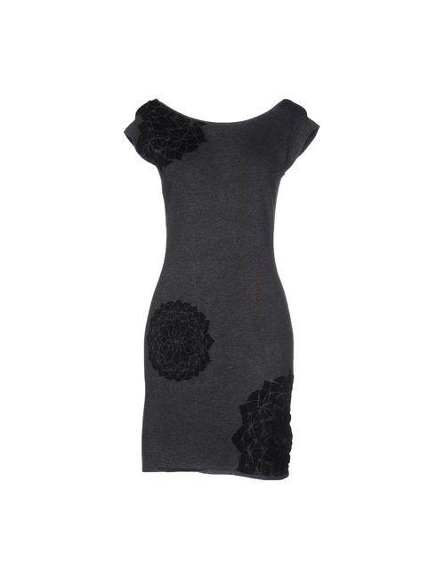 Desigual | Женское Серое Короткое Платье