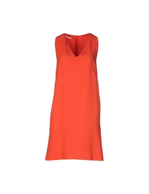 Les Copains | Женское Оранжевое Короткое Платье