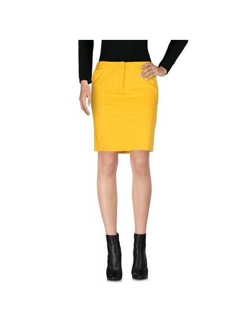 G.Sel | Женская Жёлтая Мини-Юбка