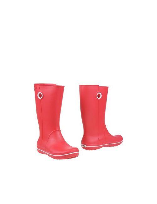 Crocs   Женские Красные Сапоги