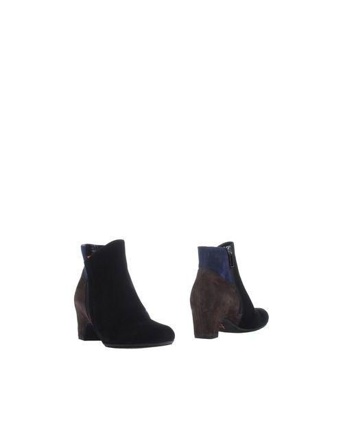 Pas De Rouge | Женские Чёрные Полусапоги И Высокие Ботинки