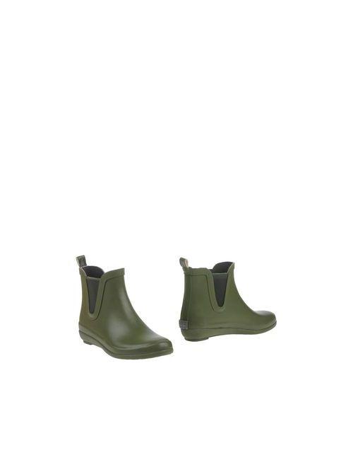 Gioseppo | Женские Зелёные Полусапоги И Высокие Ботинки