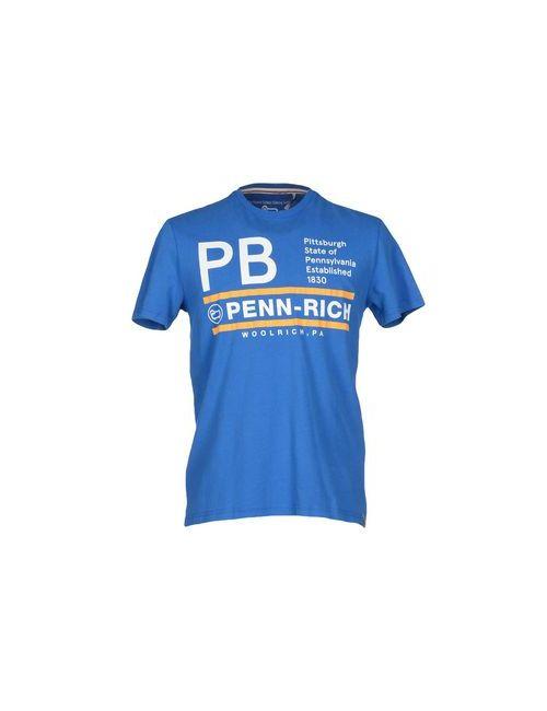 Penn-Rich Woolrich (Pa)   Женская Синяя Футболка