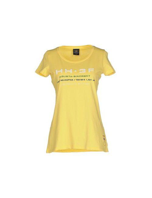 Aeronautica Militare | Женская Жёлтая Футболка