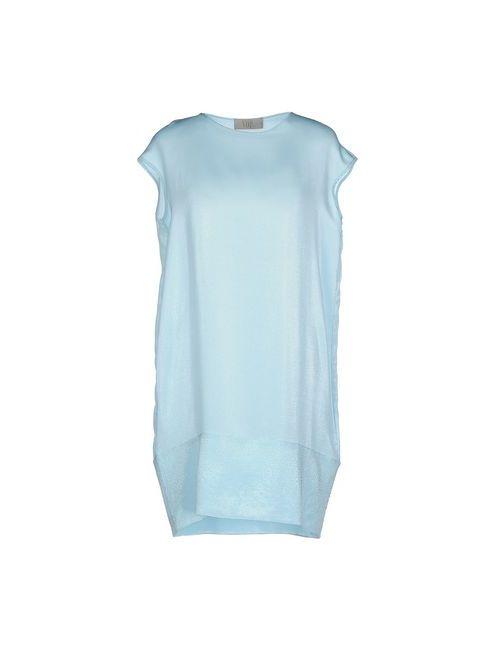 Vdp Collection | Женское Голубой Короткое Платье