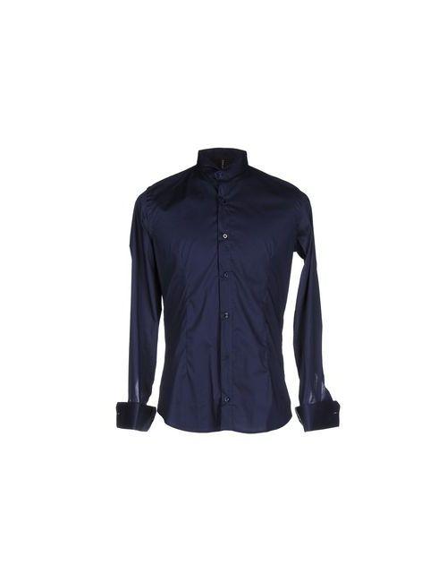 Job Mc Key | Мужская Синяя Pубашка