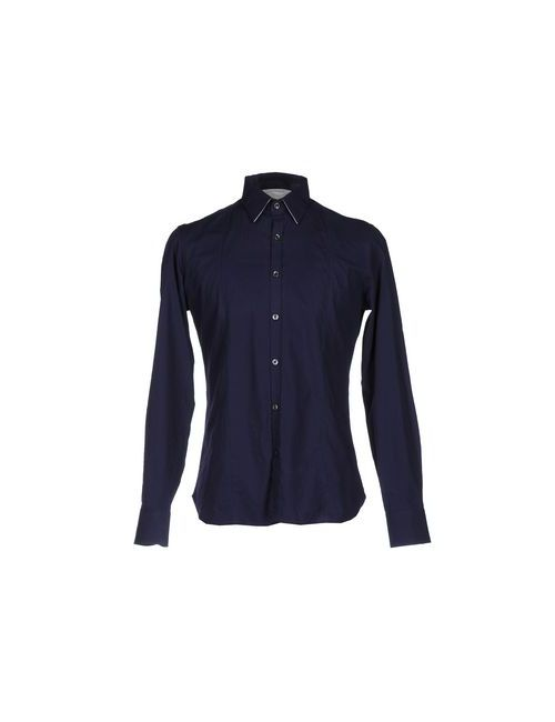 Bagutta   Мужская Синяя Pубашка