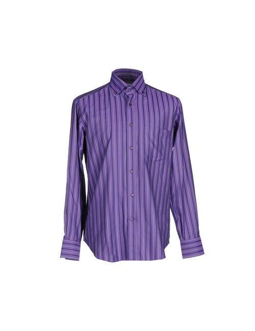 Caliban   Мужская Фиолетовая Pубашка