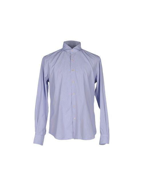 Cellini   Мужская Синяя Pубашка