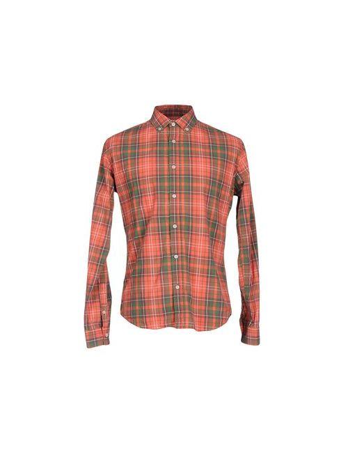 Vintage 55 | Мужская Красная Pубашка