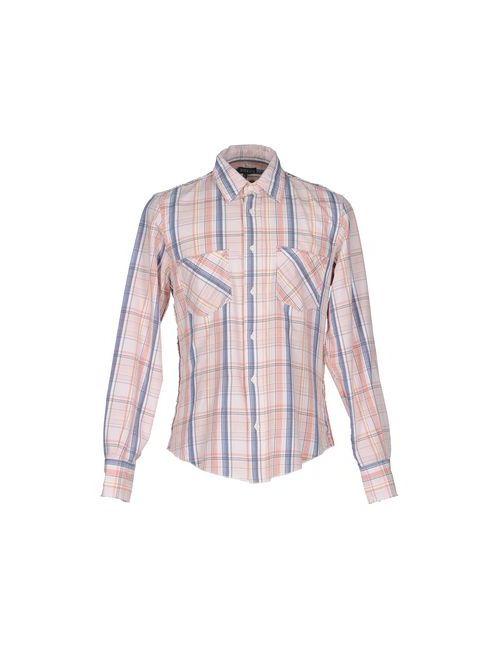 Datch | Мужская Розовая Pубашка