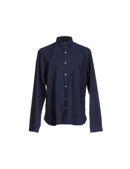 Oliver Spencer | Мужская Синяя Pубашка