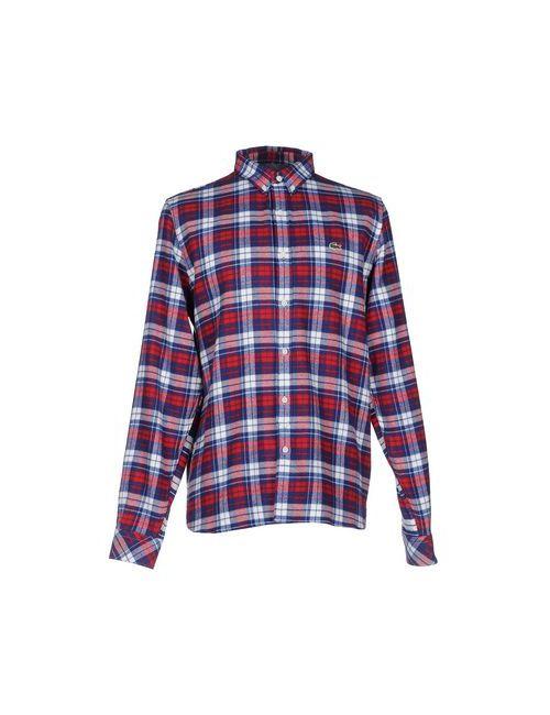 Lacoste L!Ve | Мужская Красная Pубашка