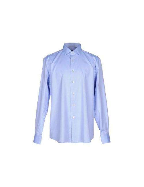 Xacus | Мужская Голуба Pубашка
