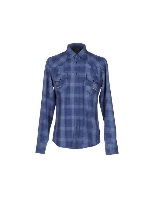 Meltin Pot | Мужская Синяя Pубашка