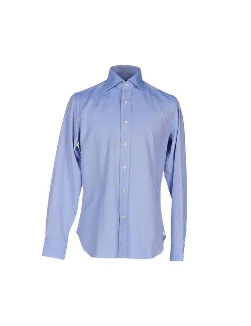 LEXINGTON | Мужская Синяя Pубашка