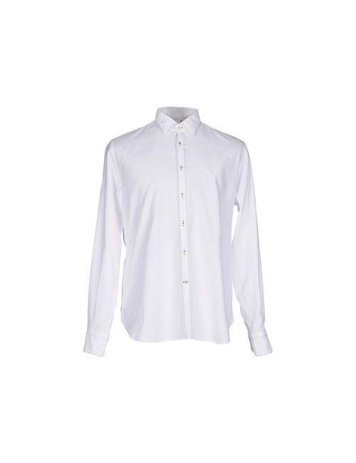 De Siena | Мужская Белая Pубашка