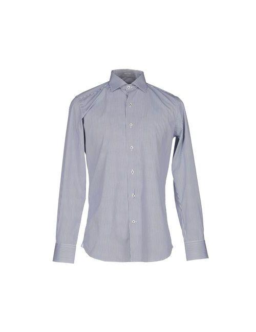 Himon'S | Мужская Синяя Pубашка