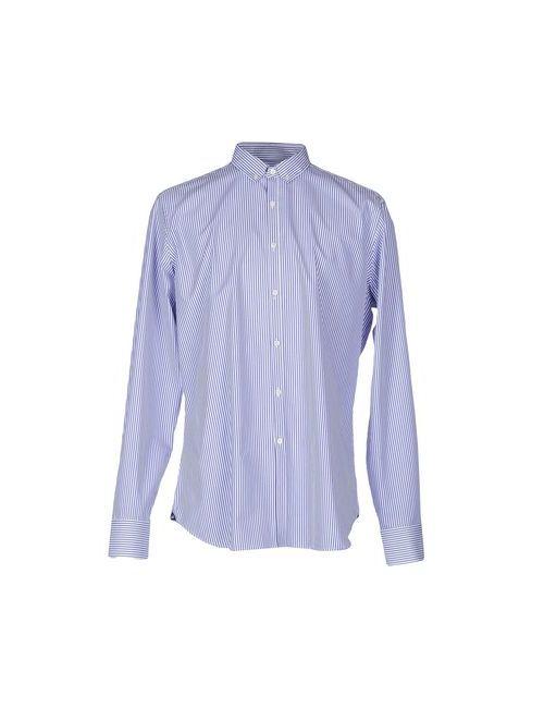 AGHO | Мужская Синяя Pубашка
