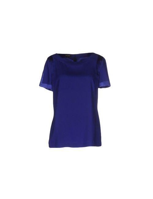 Escada | Женская Синяя Блузка