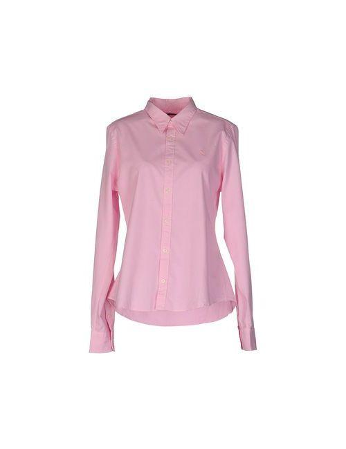 Ralph Lauren | Мужская Розовая Pубашка