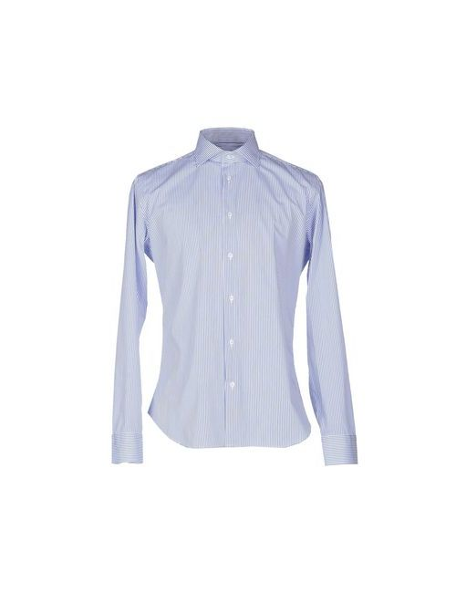 Massimo Brunelli | Мужская Синяя Pубашка