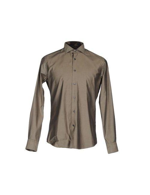 Ingram | Мужская Зелёная Pубашка