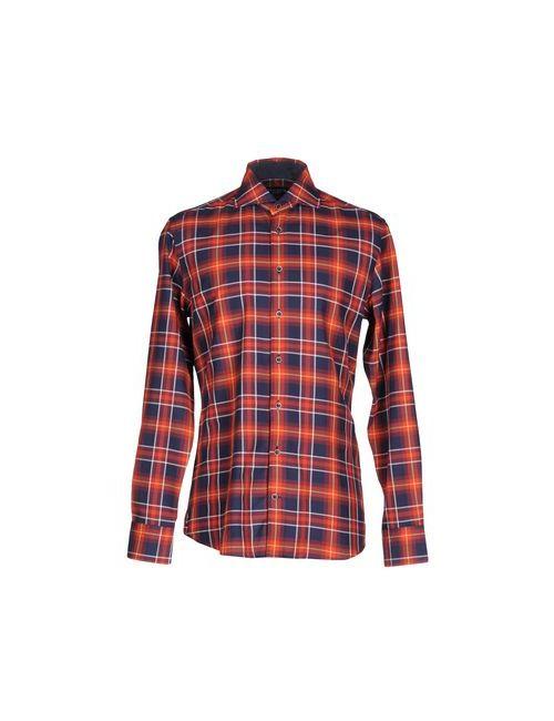 Hackett | Мужская Красная Pубашка
