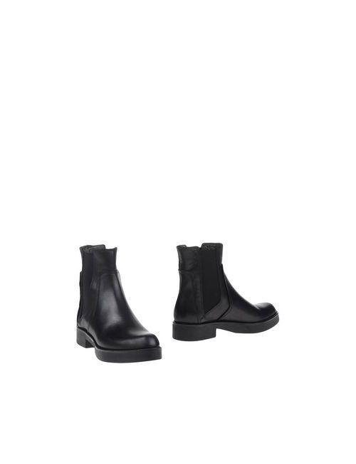 Lea Foscati | Женские Чёрные Полусапоги И Высокие Ботинки