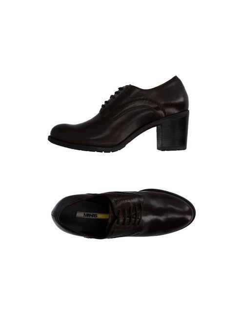 Manas   Мужская Коричневая Обувь На Шнурках