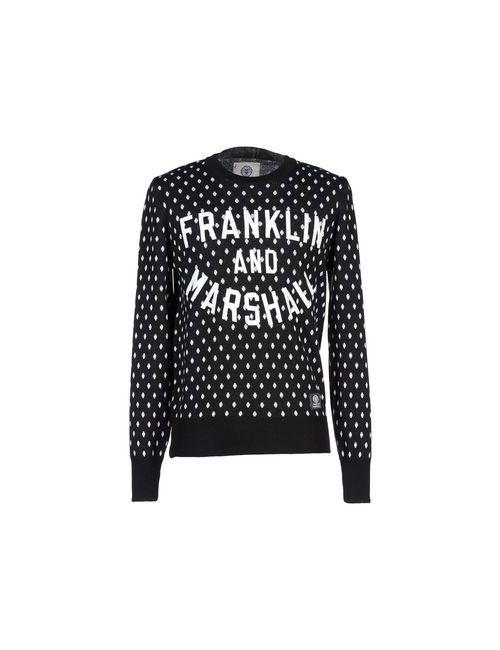 Franklin & Marshall | Чёрный Свитер