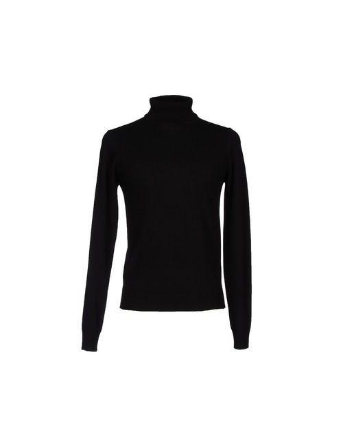 Wool & Co | Женские Чёрные Водолазки