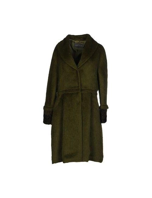 Alberta Ferretti | Мужское Зелёное Пальто