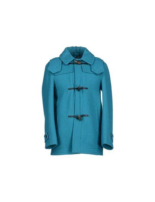 HARNOLD BROOK | Мужское Бирюзовое Пальто