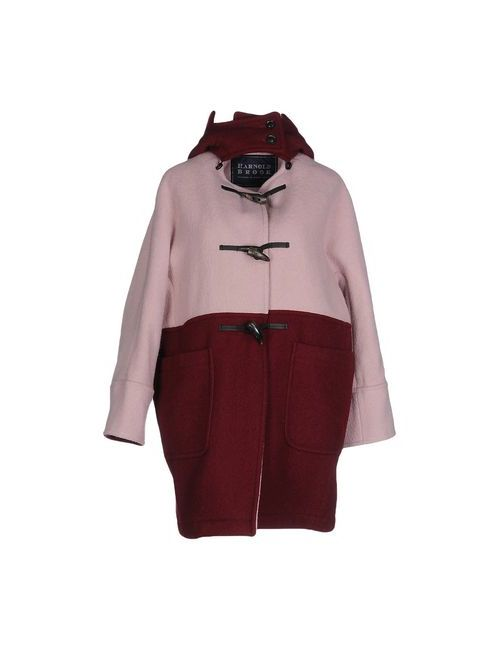 HARNOLD BROOK | Мужское Розовое Пальто